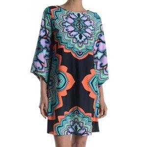 NWT Aryeh anthropologie printed bell sleeve dress